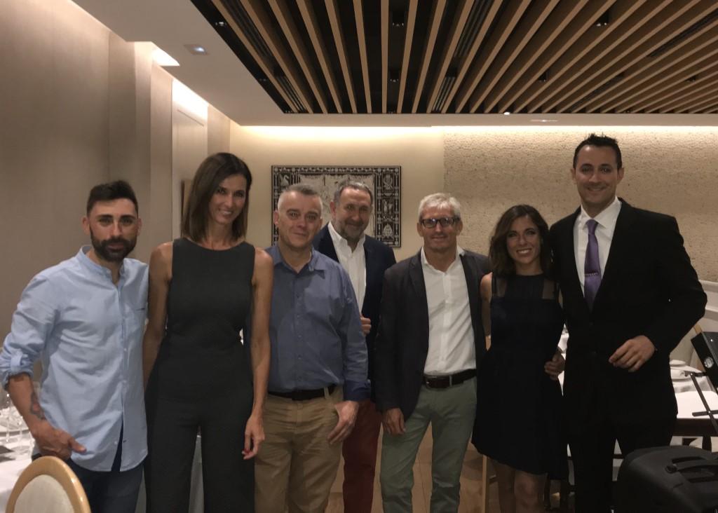 Cena de aniversario con Marqués de Murrieta